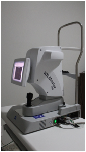 BIOMETRIA POR INTERFEROMETRIA OPTICA (IOL-MASTER)